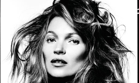 Kate Moss photo taken by David Bailey