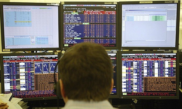 Goldman Sachs Trading Floor US bank results set to