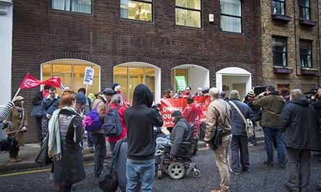 Benefits Street protest
