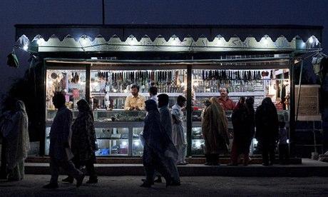 Devotees at the shrine of Sufi saint Shah Rukn-e-Alam in Multan, Pakistan