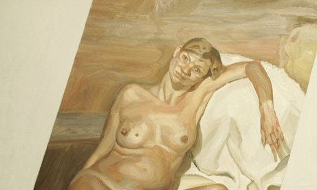 Lucian Freud's painting of Kate Moss