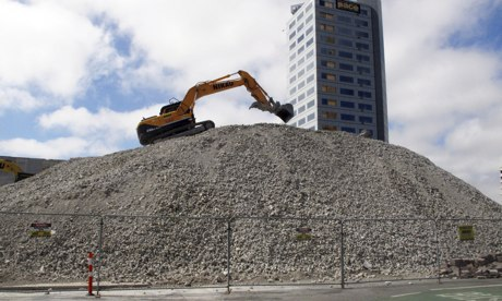 Cities: Christchurch 3, digger 2013