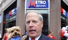 US billionaire and co-founder of Metro Bank, Vernon Hill