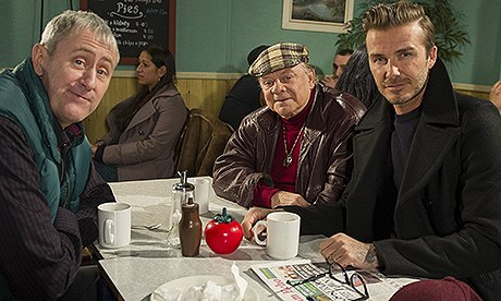 Beckham in Only Fools