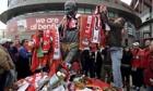 Eusébio statue Benfica football
