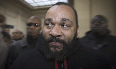 French controversial humorist Dieudonne