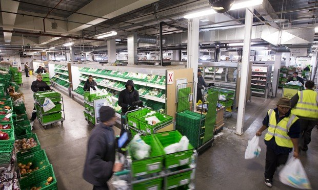 Inside The Supermarkets Dark Stores Business The Guardian