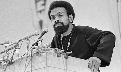 Amiri Baraka in a press conference