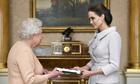 Angelina Jolie honorary dame