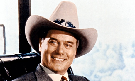 Machieavellian Dallas oilman JR Ewing, played by Larry Hagman