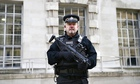 Armed police Westminster