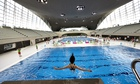 The London Aquatic centre opens to the public