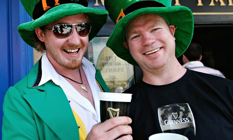 St Patrick's Day Celebrated In Auckland