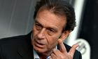 close up of Massimo Cellino