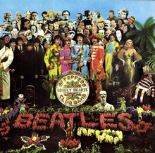 The Beatles' Sgt Pepper's Lonely Hearts Club Band – album cover