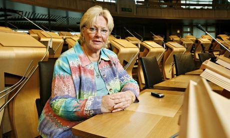Margo MacDonald at the Scottish Parliament, Edinburgh, Scotland in 2007