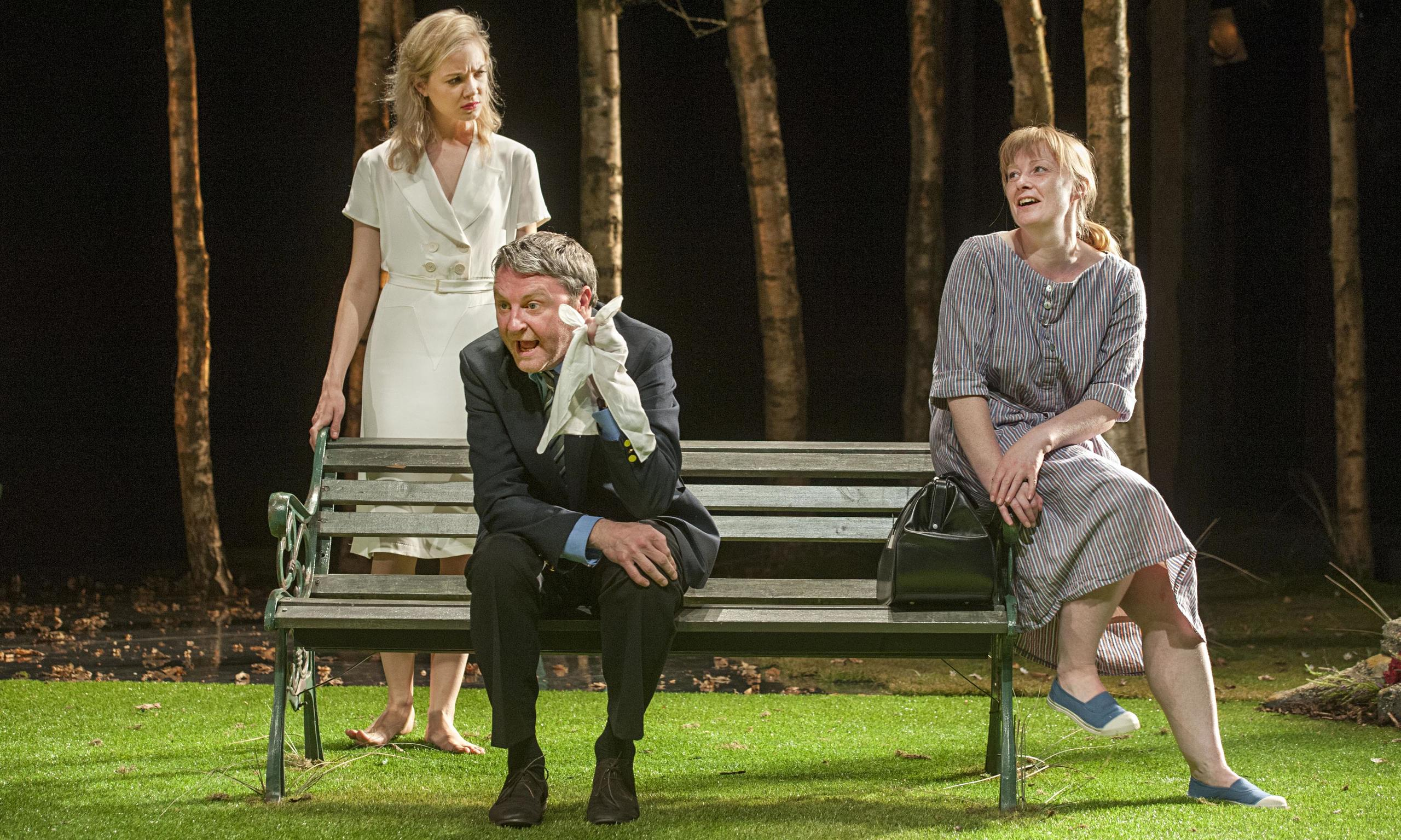 woman in mind by alan ayckbourn essay Will computers become super-human  british playwright alan ayckbourn's comic potential opens with the scene of a young man  and downloads his mind to his.