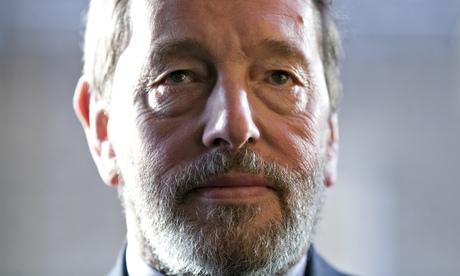 David Blunkett in close up