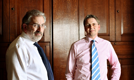 Sir Bob Kerslake and Sir Jeremy Heywood