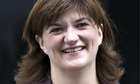 Nicky Morgan, education secretary