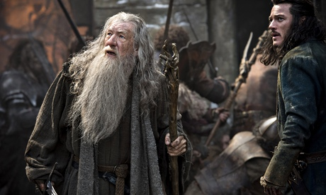 Ian McKellen, Luke Evans, The Hobbit: The Battle of the Five Armies