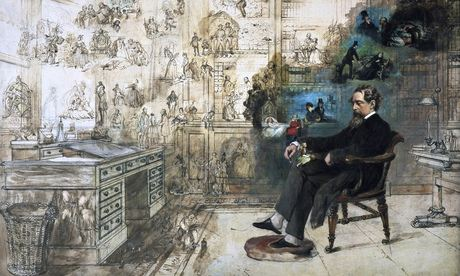 Dickens' Dream, Robert William Buss, Charles Dickens Museum