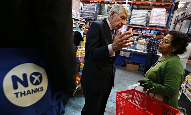 Retailers Under Pressure To Back No Vote In Scottish Referendum Politics The Guardian