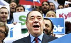Salmond campaigning