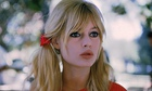 Brigitte Bardot during Viva Maria filming
