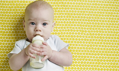 Babies and small children should drink only water and milk and should ...