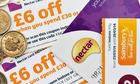 Sainsbury's nectar vouchers
