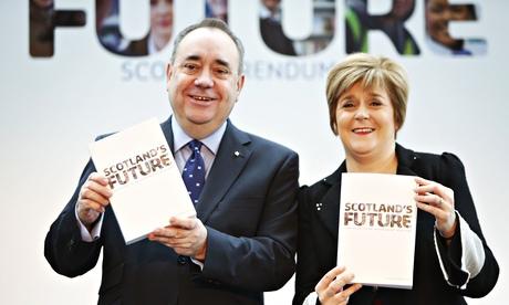 SNP's Alex Salmond and Nicola Sturgeon