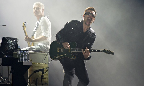 Bono says he may never play guitar again after cycling accident