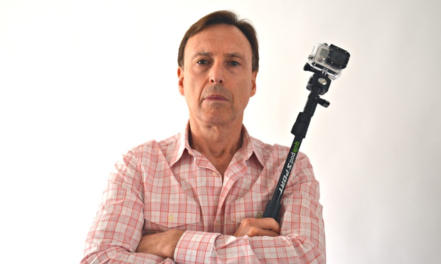 is this man responsible for inventing the selfie stick technology the guardian. Black Bedroom Furniture Sets. Home Design Ideas