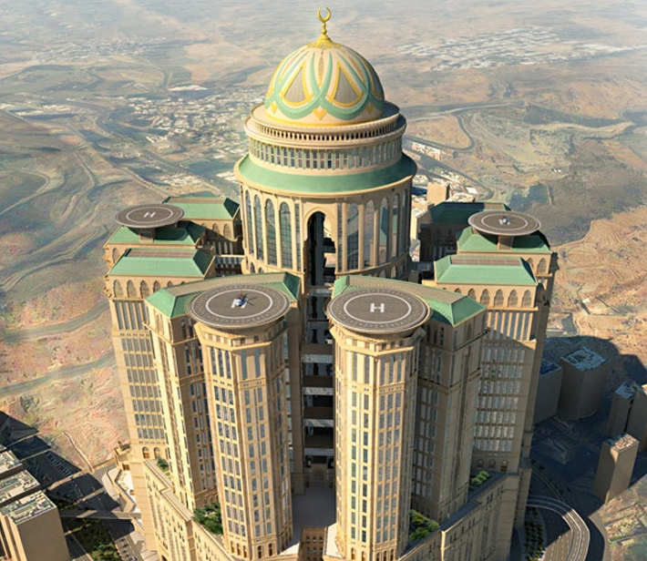 city in the sky world 39 s biggest hotel to open in mecca. Black Bedroom Furniture Sets. Home Design Ideas