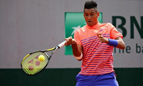 Nick Kyrgios'good and ready' to face Andy Murray at Roland Garros