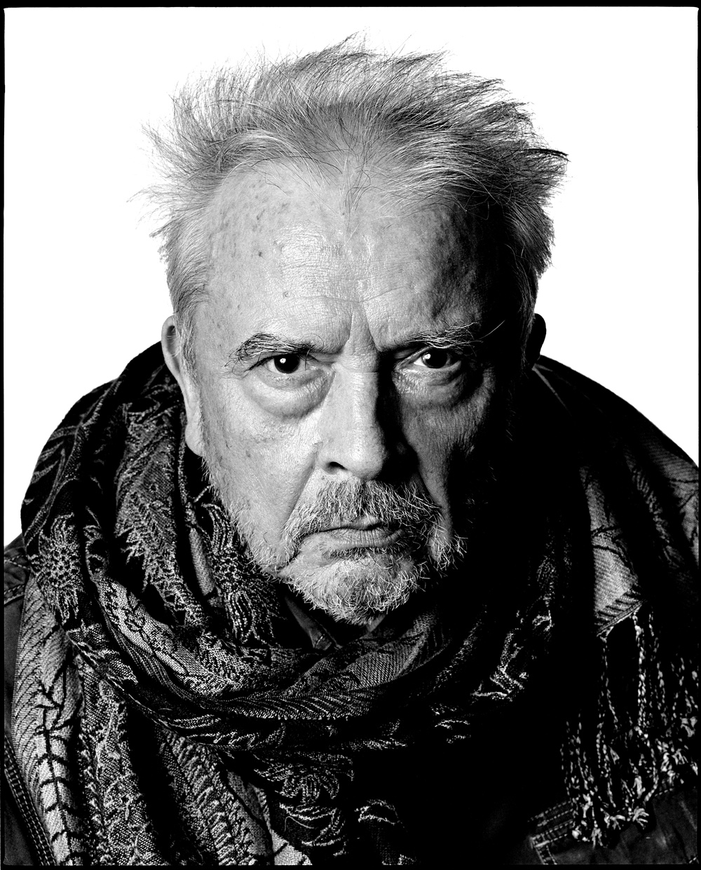 Click here to view full image. Photograph by <b>David Bailey</b> - David-Bailey-self-portrai-001