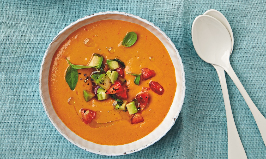 The weekend cook: Thomasina Miers' recipes for tomato gazpacho with ...