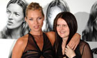 Picture of Kate Moss and Corinne Day in 2007
