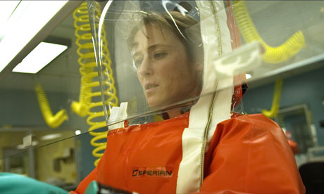 Jennifer Ehle in the film Contagion