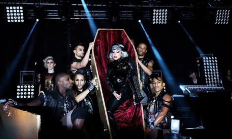 Lady Gaga at Radio 1's Big Weekend 2011