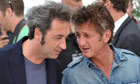 Paolo Sorrentino and Sean Penn at Cannes film festival