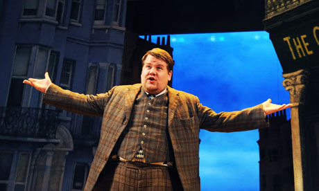 James Corden in One Man, Two Guvnors at the National