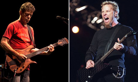 Metallica and Lou Reed reveal secret collaboration on full-length album