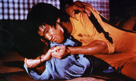Bruce Lee in The Game of Death  the fur-lined coat he wore in the