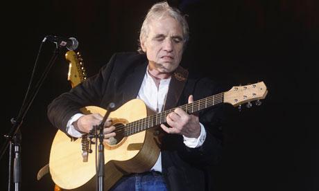 Abel Ferrara sings at the Locarno film festival