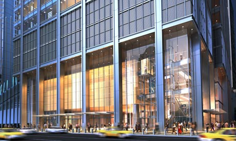 Richard Rogers World Trade Centre design