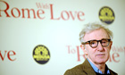 Woody Allen at the premiere of To Rome with Love in Rome