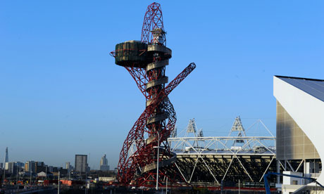 Orbit sculpture at the Olympic Park