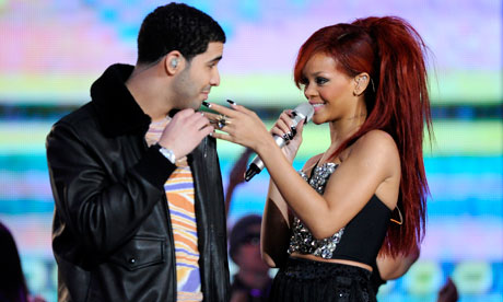 Give me five ... Drake and Rihanna have five nominations each for the MTV Video Music awards.  Photograph: Paul Buck/EPA 					 	      	    Drake and Rihanna lead the nominees for this year's MTV Vide